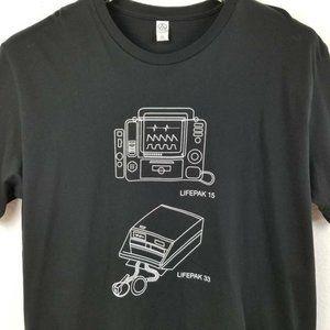 Alternative Unisex T-Shirt Black Fifty Years Of Li